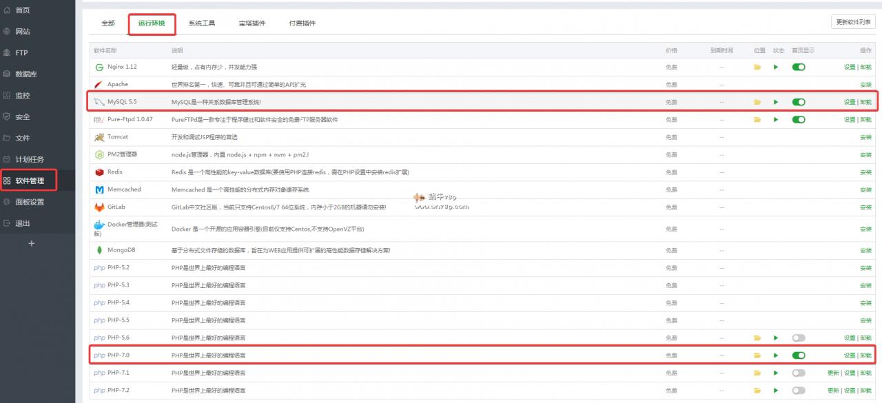 宝塔面板CPU占满100%,负载100%网站缓慢解决方法插图(6)